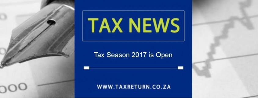 Tax Season 2017 is open